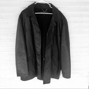 j. Crew - Vintage Men's Leather Jacket